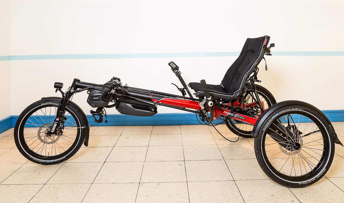 Hase Kettwiesel EVO mit Shimano STEPS-E6100-Motor!